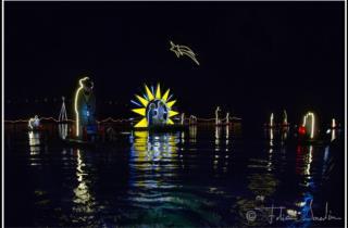 Il Natale subacqueo la sera del 24 dicembre_foto di Fabio Iardino