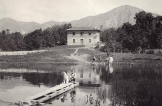 Il centro di Monte Prat negli anni 60